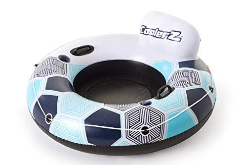 Bestway CoolerZ Rapid Rider Inflatable Blow Up Pool Chair Tube (12 Pack) by Bestway (Image #1)