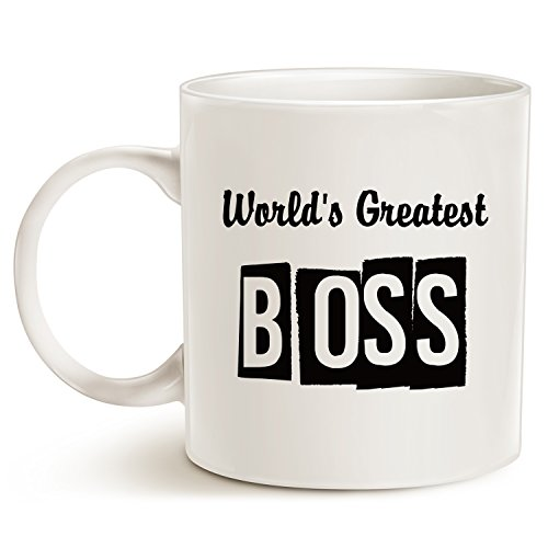 Funny Best Boss Office Coffee Mug Fathers Day And Mothers Import