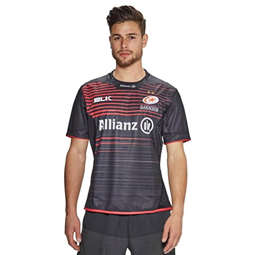 Saracens Rugby Home Jersey 2017/18 (Usa Home Rugby Jersey)