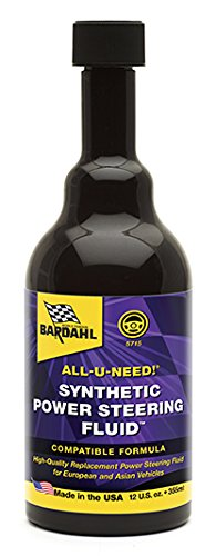 Bardahl 5715 Synthetic Power Steering Fluid with Sealer and Conditioner - 12 oz.