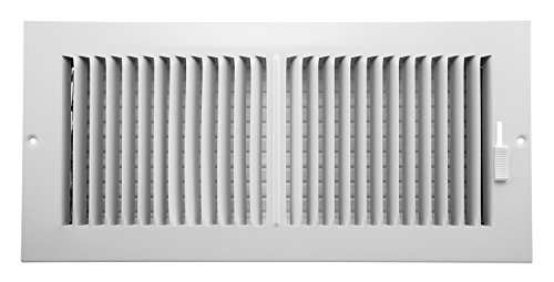Accord AASWWH2146 Sidewall/Ceiling Register with 2-Way Aluminum Design, 14-Inch x 6-Inch(Duct Opening Measurements), - 6 14