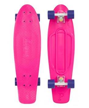 Penny Classic 22 Cruiser Complete Skateboard – Pink White Purple