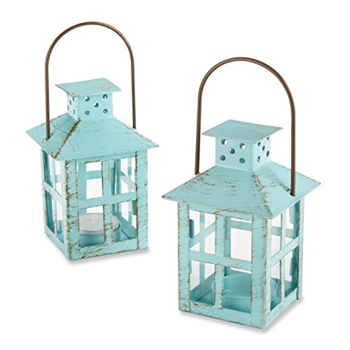Kate Aspen  Vintage Lantern Bundle of 12 Set, Blue ()
