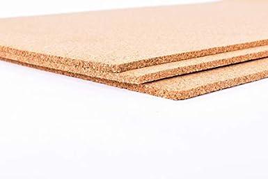 Fine Grain Cork Adhesive 1//8 Thick X 48 Wide X 15 Long