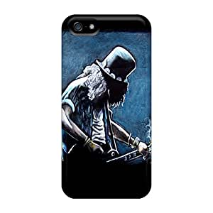 High Quality Hard Phone Cover For Iphone 5/5s (WyD10613hdbN) Provide Private Custom Realistic Guns N Roses Slash Pictures