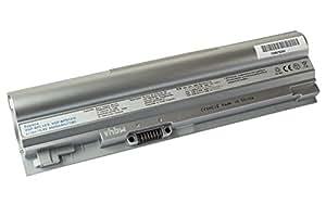 vhbw Li-Ion batería 4400mAh (10.8V) plata para Notebook Laptop Sony VAIO VGN-TT26TN/N, VGN-TT33FB, VGN-TT35GN/B, VGN-TT35GN/W por VGP-BPS14/S.