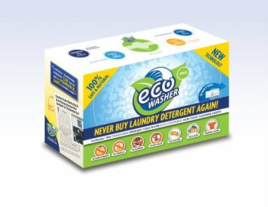 EcoInventions ECO-01 3.85 lbs. Eco-washer Pro 100 Percent Natural Laundry Detergent