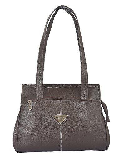 Fostelo Women's Milan Shoulder Bag (Brown) (FSB-622)