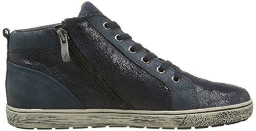 pettine Sneakers oceano da da donna alte 880 25252 blu Caprice 4xwYA7