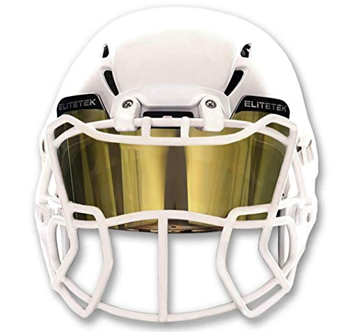 EliteTek Color Football & Lacrosse Eye-Shield Facemask