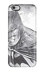 High Quality Kevin S Anderson Black And White Batman Comics Anime Comics Skin Case Cover Specially Designed For Iphone - 6 Plus