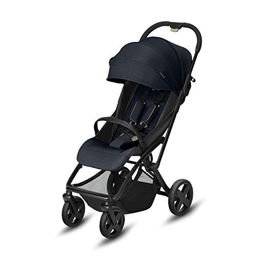 CBX EtuPlus - Silla de paseo, incluye plastico para lluvia, desde el nacimiento hasta los 15 kg, Jeansy Blue