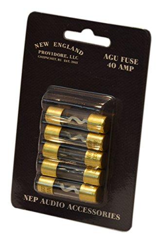 NEP AGU Fuse 5-Pack (40 Amp) ()