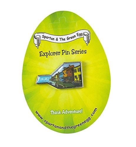 Spartan And The Green Egg Explorer Pin Series  Burano  Italy