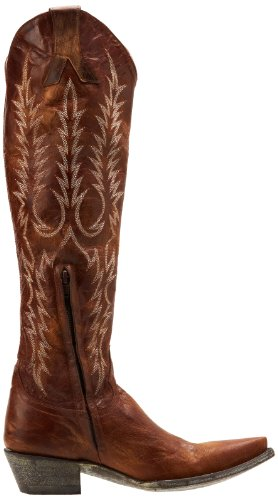 Old Gringo Womens Mayra Boot Vesuvio Brass