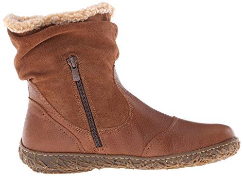 El Naturalista N758 NIDO - botas de caño bajo de piel mujer marrón - Braun (Wood-W)