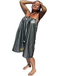 Shower Toga-Race, Rinse, Repeat.OCR The worlds first way to change and shower in public with ease and privacy