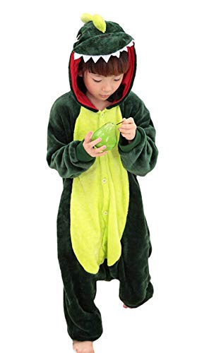 Tonwhar Children's Halloween Costumes Kids Kigurumi Onesie Animal Cosplay (110(height:41.3