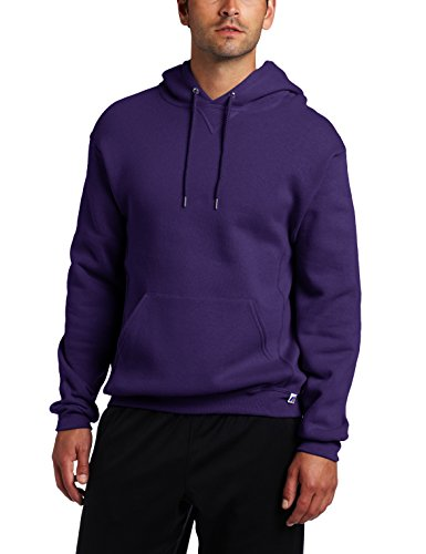 Russell Athletic Men's Dri-Power Pullover Fleece Hoodie, Purple, 4X-Large