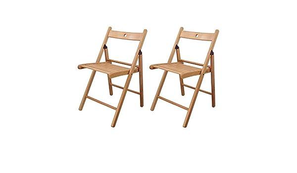 LVJING Silla Plegable IKEA , Sillas Plegables De Madera ...