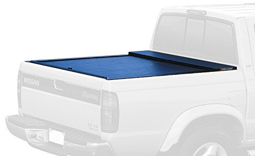 Access Roll Nissan Frontier - Roll-N-Lock LG807M Locking Retractable M-Series Truck Bed Tonneau Cover for 2005-2018 Nissan Frontier Crew Cab   Fits 5' Bed