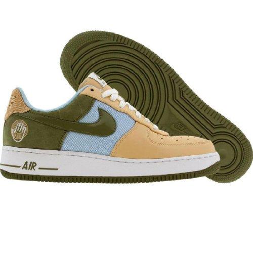 Nike Air Force 1 07 Low Premium Kool Bob Love 3 suede pilgrim ice blue Size 9.5 US by NIKE (Image #4)