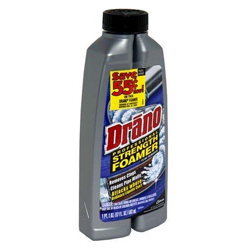 Drano Foaming Liquid Drain Cleaner (Pack of 4)