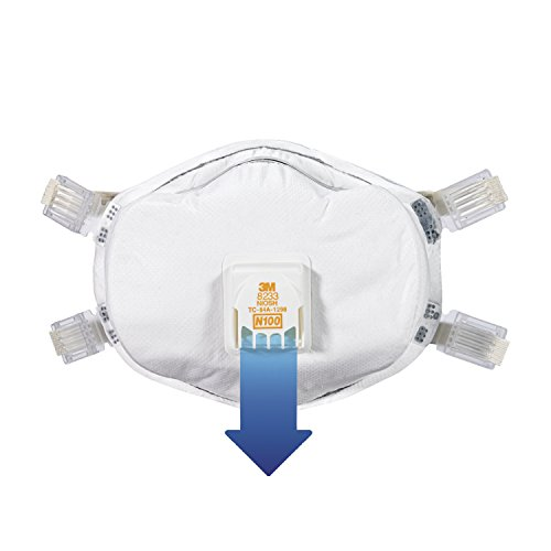 051111541562 - 3M 8233PA1-A-PS Lead Paint Removal Valved Respirator carousel main 2