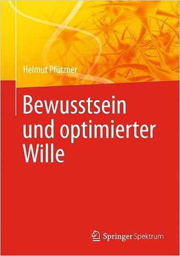 Book Bewusstsein und Optimierter Wille