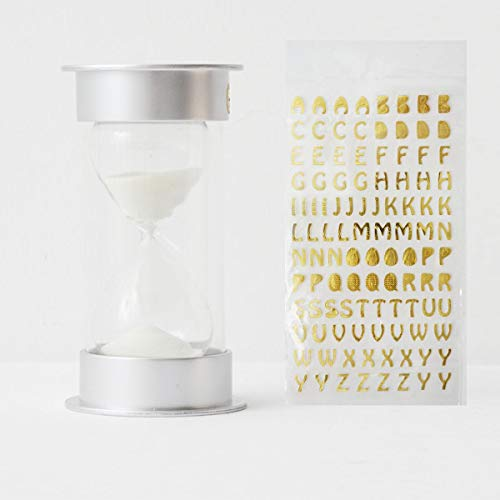 Glow-In -Dark hourglass DIY Name and Blessing, 3-minute for kids.Home office Decoration]()