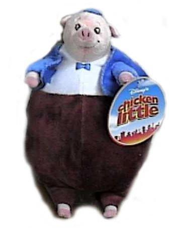 Disney Chicken Little Pig Runt Plush Doll