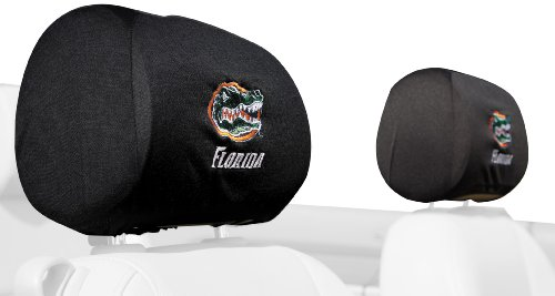 NCAA Florida Gators Headrest Covers, Set of 2 (Florida Gator Tire Cover compare prices)