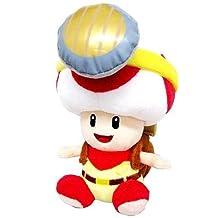 "Plush - Nintendo - Super Mario Captain Toad Sitting 7"" Soft Doll 1408 by Super Mario Bros."