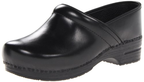 - Dansko Men's Professional Leather Men's Black Cabrio Leather Clog/Mule 44 (US Men's 10.5-11) Wide