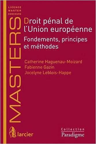 En ligne téléchargement gratuit Les fondements du droit pénal de l'Union européenne epub pdf