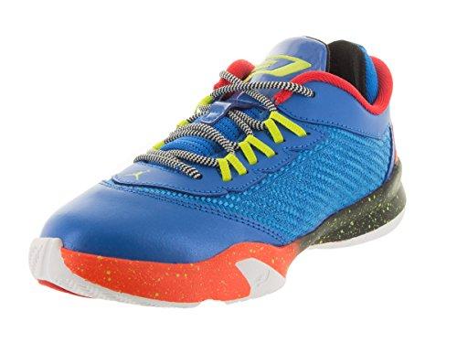 Nike Jordan Kids Jordan CP3.VIII BP Photo Blue/Cybr/Elctr Orng/Blk Basketball Shoe 3 Kids US