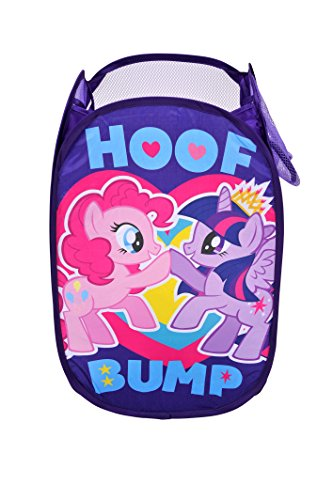 My Little Pony Pop Up Hamper, Purple (Heritage Collection Bedroom Chest)