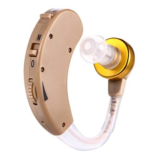 Xixou Best Hearing Amplifiers,Hearing Amplifier Personal Sound Amplifiers Adjustable Small Digital Device - for Adults Men & Women (1 Set)