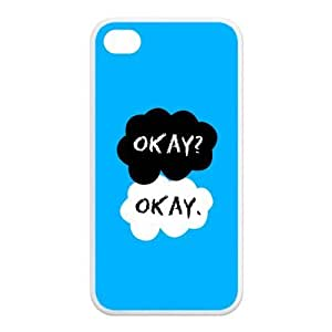 Simple New Blue The Fault In Our Stars Case for Iphone 4S/4
