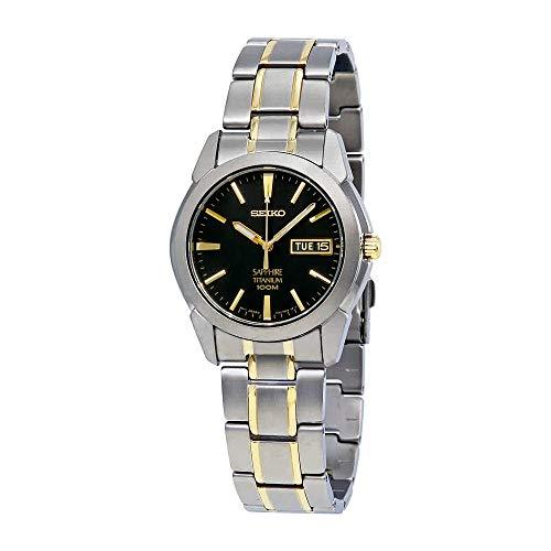 - Seiko Men's SGG735 Titanium Titanium Two Tone Bracelet Watch