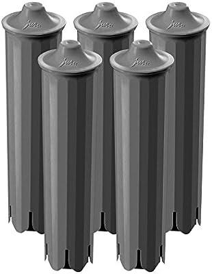 Cartucho de filtro Claris Smart 71793 de Jura, 5 unidades: Amazon ...