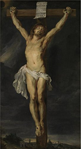[Oil Painting 'Peter Paul Rubens,Christ Crucified 2,1577-1640' Printing On Perfect Effect Canvas , 16x29 Inch / 41x74 Cm ,the Best Kids Room Gallery Art And Home Gallery Art And Gifts Is This High Quality Art Decorative Prints On] (Peter Pan Cast Costumes)