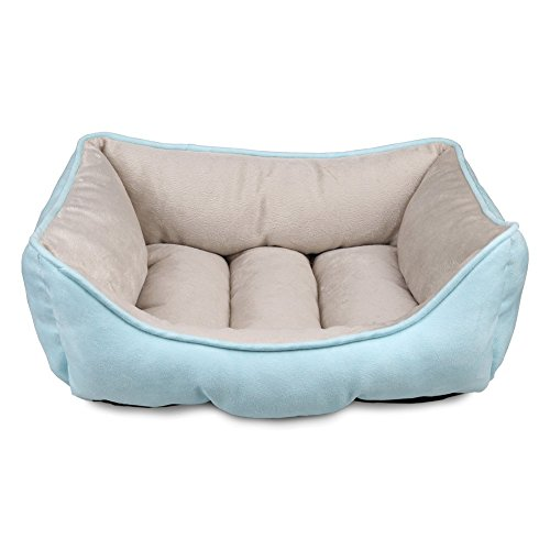(MagicCindy Pets Beds for Small Medium Dogs and Cats Rectangle Cuddler with Soft Pet Sleeper Cushion Machine Washable)