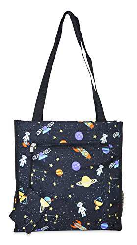 Ever Moda Galaxy Tote Bag
