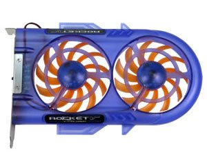 EverCool SB-RV Rocket V Ever Lubricate System Slot Cooler Case Fan 4-pin - NEW by Evercool