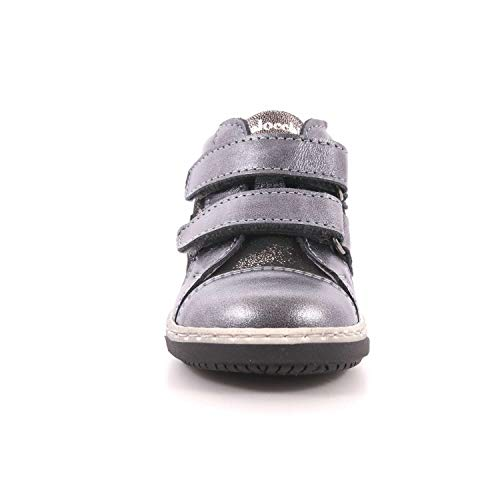 Zapatos Balocchi Primeros Niña Gris De Para Cuero Pasos dqHqC7w
