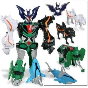 Buy power rangers jungle fury transforming beast master megazord power rangers jungle fury transforming beast master megazord 5 zords combination bat voltagebd Image collections
