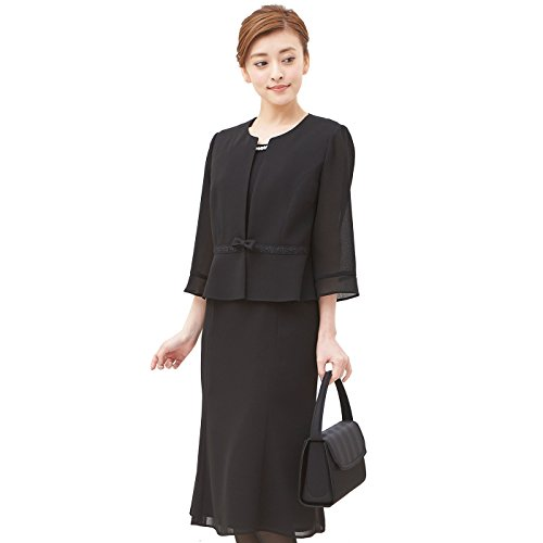 SORITEAL Black Label Women's (Altamoda) Correspond To Washable Summer One Piece Looks Like Suit 13AR Black by SORITEAL Black Label
