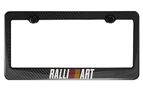 Ralliart Carbon Fiber License Plate ()