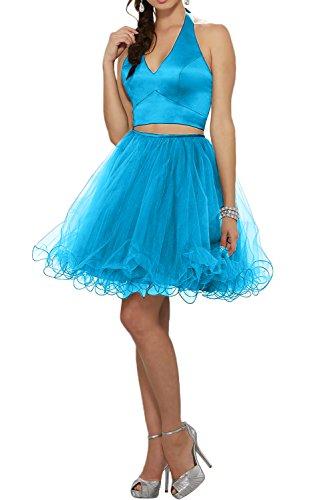 Missdressy - Vestido - trapecio - para mujer Azul